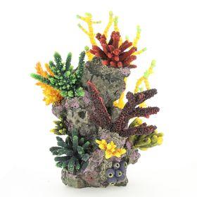 Композиция из кораллов пластик+силикон 34х30х37см (SH9603C)