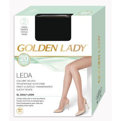 Колготки женские Golden Lady Leda, 20 den, размер 3, цвет visone