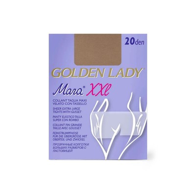 Колготки женские Golden Lady Mara, 20 den, размер 6, цвет melon