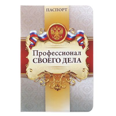 "Passport cover ""Professional"""