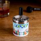 "Ashtray smokeless ""LONDON"", 7 × 11.5 cm"