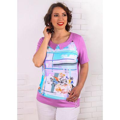 Блуза женская, размер 52 843