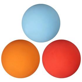 Мяч для большого тенниса, набор 3 шт, цвета МИКС