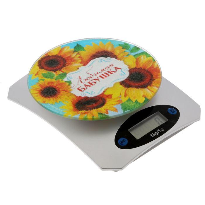 """Весы электронные кухонные """"Любимая бабушка"""", на 5 кг"""