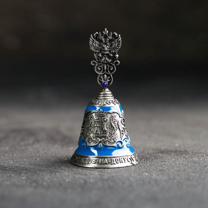 Колокольчик «Ростов-на-Дону», под серебро