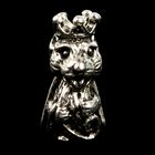 "Сувенир кошельковый металл ""Мышка-королева"" 1,8х1 см"