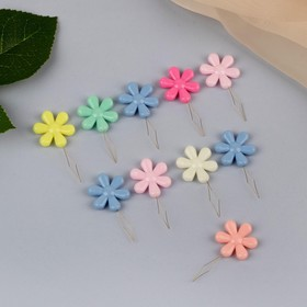 "Newdevel ""Flower"" with a 4.5 × 2 × 0.4 cm, 10 PCs, MIX color"