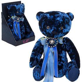 """Мягкая игрушка """"Медведь БернАрт"""", цвет сапфировый"""