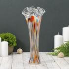 "Vase ""Wave"" multi-colored"