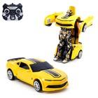 Робот радиоуправляемый «Автобот», трансформируется, трансформируется, работает от аккумулятора, заряд от USB