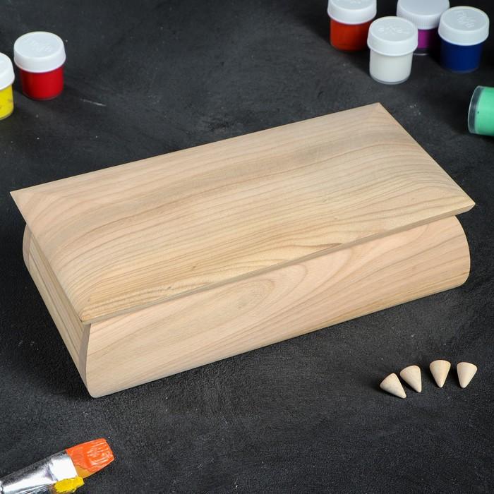 Шкатулка заготовка для декупажа, 25х12,5х7,5 см