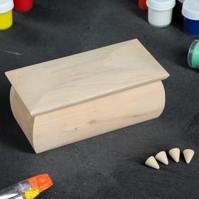 Шкатулка заготовка для декупажа, 16 х 8 х 7,5 см