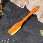 Лопатка кухонная толстая, 30 см, черешня