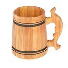 Кружка пивная деревянная