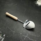 """Нож-лопатка для сыра, 26 см, """"Классическая"""" с деревянной ручкой"""