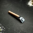 Чапельник с деревянной ручкой, 18 см