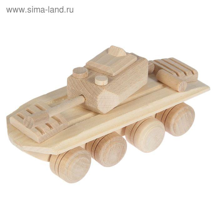 "Сувенир деревянный ""Танк"""
