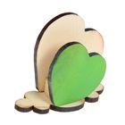 """Салфетница деревянная """"Сердце"""", окрашенная"""