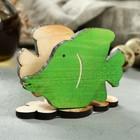 """Салфетница деревянная """"Рыбка"""", окрашенная"""