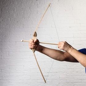 """Сувенир деревянный """"Лук и 3 стрелы"""", 68 см"""