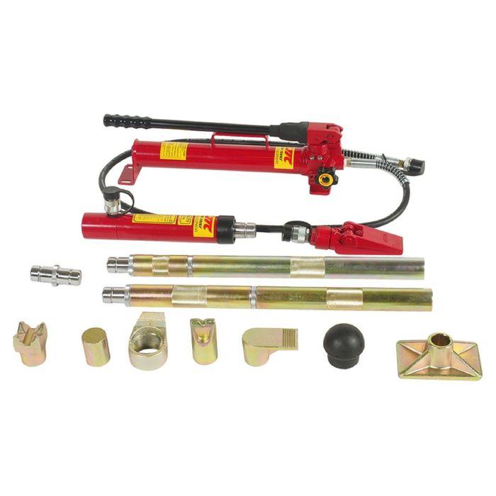 Набор инструментов JTC, JTC-PB810, для кузовных работ, профессиональный, усилие 10 т, 21 пред. 18953