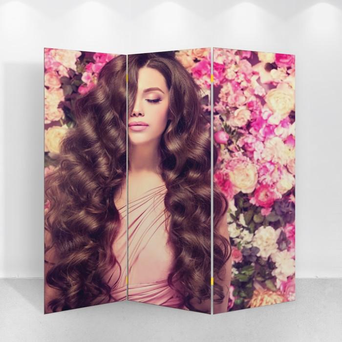 """Ширма """"Аромат цветов"""", 160 × 150 см"""