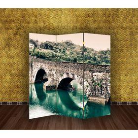 """Ширма """"Каменный мост"""", 160 × 150 см"""