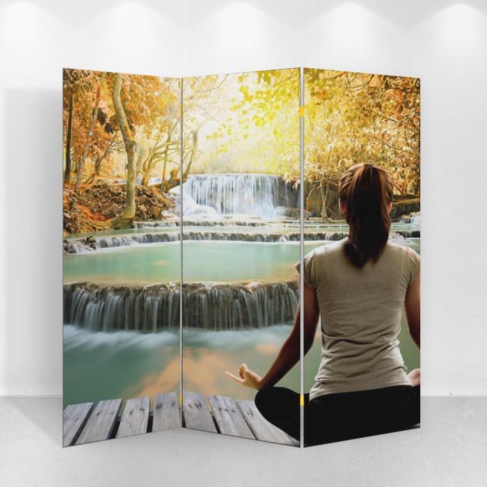 """Ширма """"Медитация"""", 160 × 150 см"""