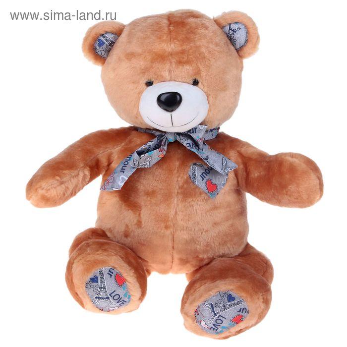 """Мягкая игрушка """"Медведь"""" со вставками, цвет коричневый"""