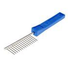 Расческа редкая Зооник, пластиковая  ручка