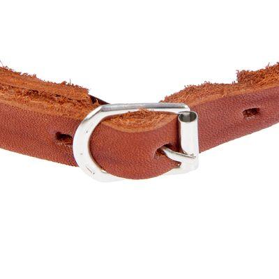 Намордник металлический «Зооник» №1 (спаниель, сеттер), длина по носу 10 см, обхват морды 30 см, микс