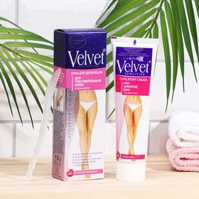 Депилятор Velvet, для чувствительной кожи и зоны бикини, 100 мл