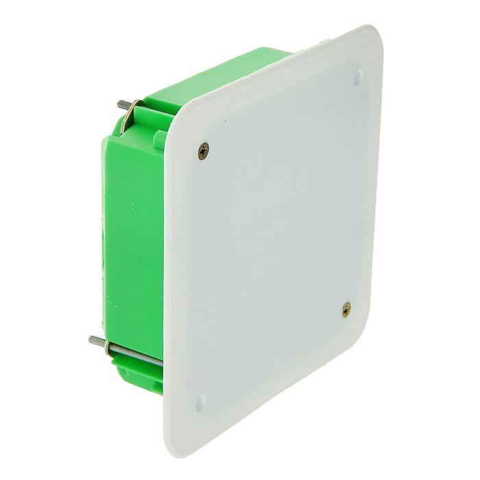 Коробка распределительная HEGEL КР1201, 113x113x45 мм, IP30, для полых стен