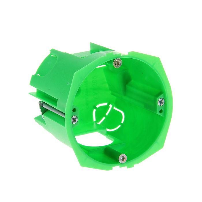 Коробка установочная HEGEL КУ1205, 68x60 мм, для полых стен