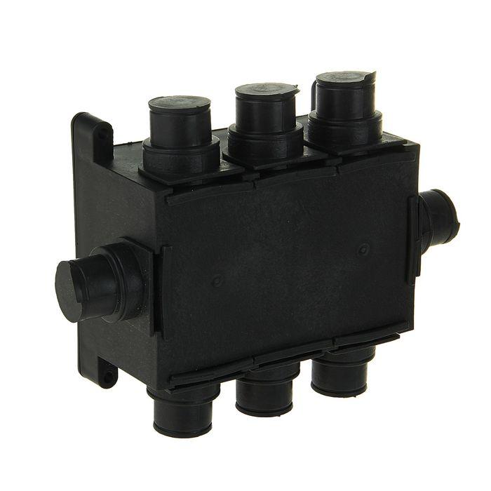 Коробка распределительная HEGEL КР1301, 118x76x60 мм, IP44, для монолитного строительста