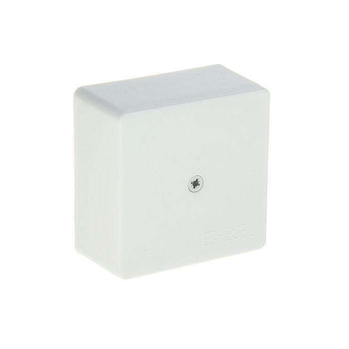 Коробка распределительная HEGEL КРК2701, 60x60x30 мм, IPX4, для открытой установки