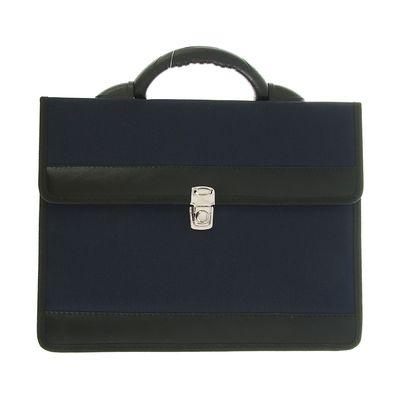 Портфель деловой, цвет синий