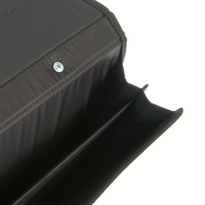 Портфель деловой «Приморск», 350 х 260 х 10 мм, ткань, синий - фото 405920995