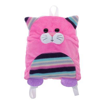 """Мягкая игрушка-рюкзак детская """"Котёнок"""""""