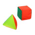 "Набор ""Кубик и пирамидка"" мягконабивная"