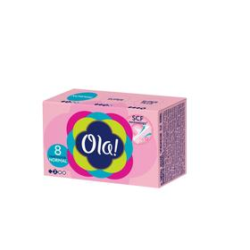 Тампоны Ola! Tampons Normal, шелковистая поверхность, 8 шт.