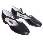 Туфли репетиторские женские, длина по стельке 24,5 см, цвет чёрный