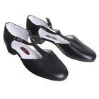 Туфли репетиторские женские, длина по стельке 27 см, цвет чёрный