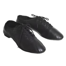 Gotowki low, leather, length of the insole 20.5 cm, color black