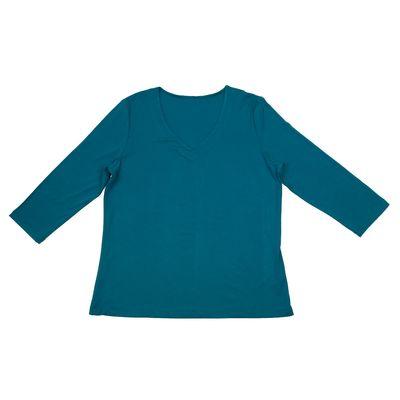 Джемпер женский Б431, цвет бирюза, размер 48 (L)