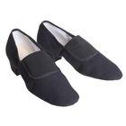 Туфли тренировочные, тканевые, модель №2, длина по стельке 25,5 см, цвет чёрный