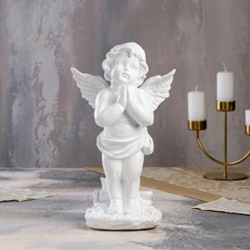 """Статуэтка """"Ангел молящийся"""", белый, 32 см"""