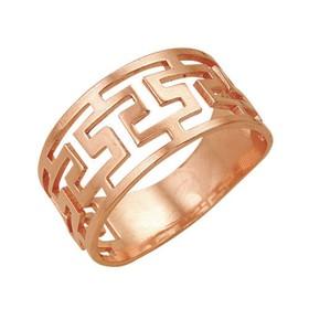 "Кольцо ""Клеопатра"", позолота, 17 размер"