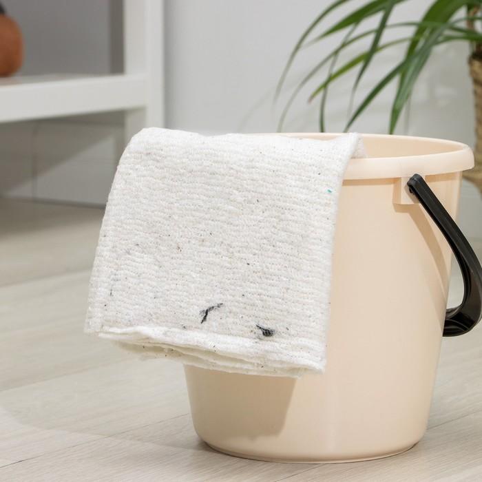 Салфетки для пола без оверлока 50×60 см, хлопок