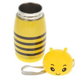 """Термос """"Пчёлка"""", 280 мл, 7х16.5 см - фото 1387310"""